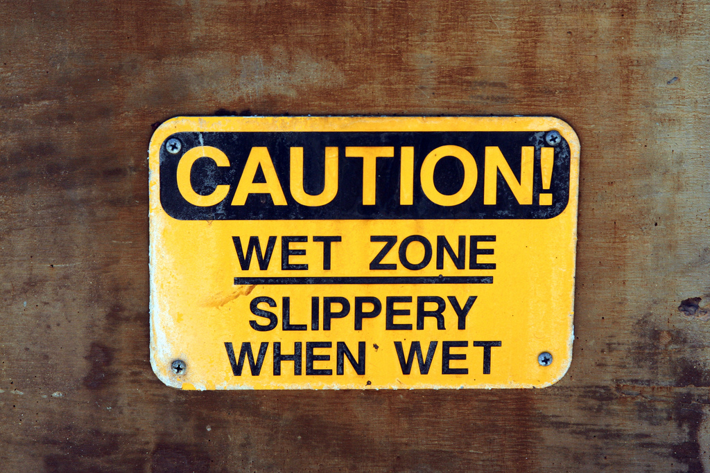 Diselfcore slippery when wet sign for Slippery when wet tattoo
