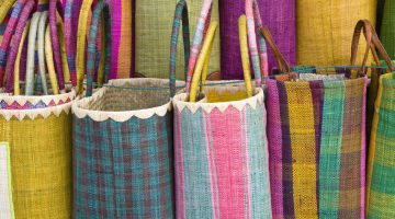 Colourful basket 2