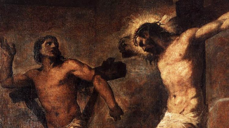 Christ and Thief - WP New