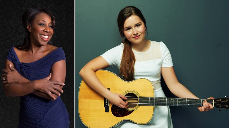 Local Kansas City musicians Oleta Adams (left) and Gracie Schram will perform at this year's Celebration of Thanksgiving event. Photos courtesy Shawnee Mission Health.
