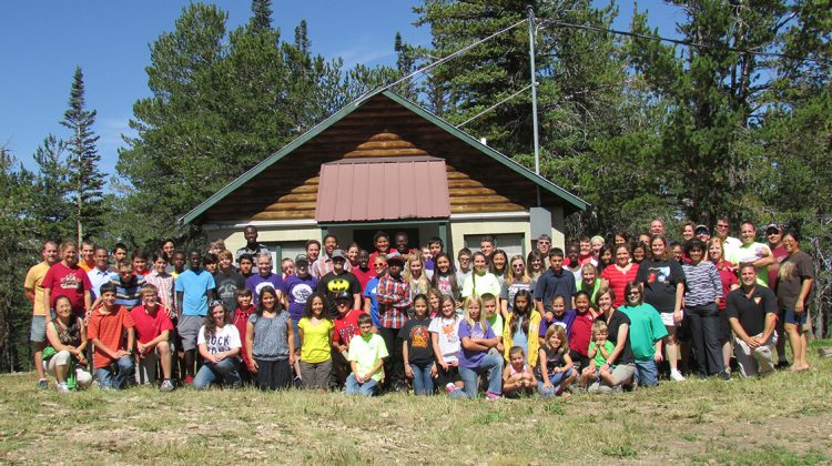 Sixty teens from seven states spent 10 days in Yellowstone National Park working on a volunteer project and compiling questions for a new Geo-thermal Pathfinder honor. Photo by Travis Sager.