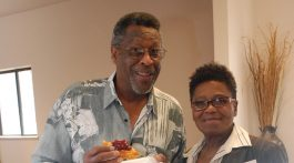 Charles and Launice Brown lead out in an all-day Family Life Ministries event in Denver aimed at strengthening relationships. Photo courtesy Central States Conference.