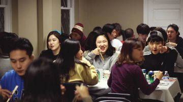The Minneapolis Korean Church is offering food and friendship to Korean international students studying at the University of Minnesota. Photo courtesy Young Kim.
