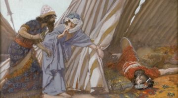 Tissot_Jael_Shows_to_Barak,_Sisera_Lying_Dead