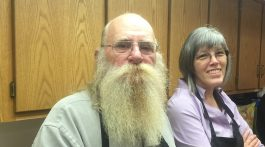 James and Tina Moore, elders at Peace Point Chapel, lead out in the weekly Celebrate Recovery program. They also help with cooking classes and Relay for Life community events. Photo courtesy Rachel Ashworth.