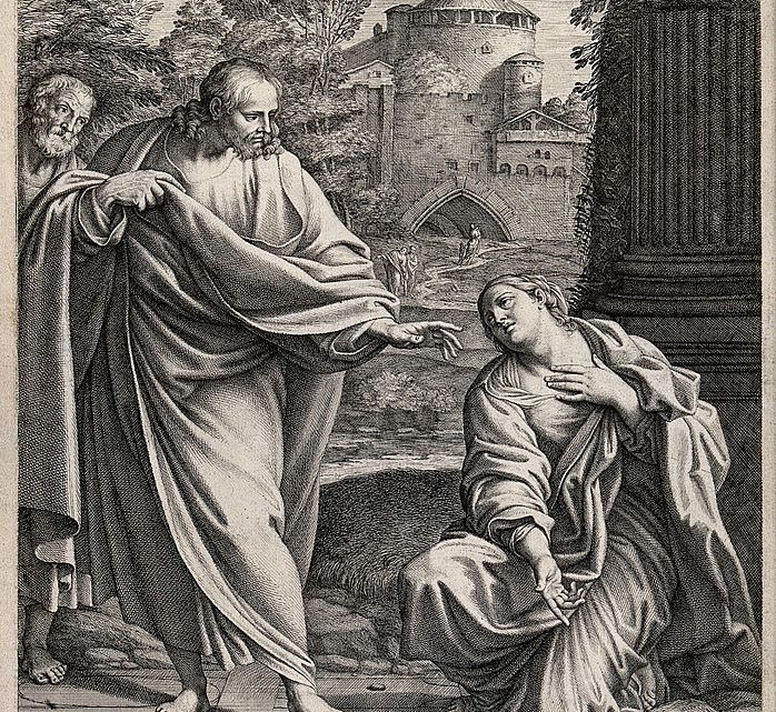 the_canaanite_or_syrophoenician_woman_asks_christ_to_cure_wellcome_v0034860