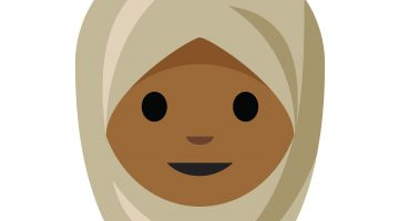 Union graduate Aphee Messer has illustrated several projects that have gained national attention, including this official hijab emoji, included in Unicode 10.