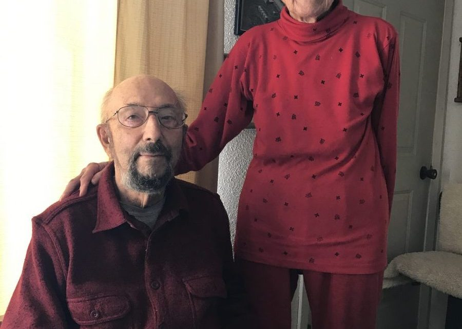 Alfred Schrenk (pictured with his wife Evangeline) stood up for his beliefs as a conscientious objector and Seventh-day Adventist while he served in the Korean War. Photo: Jacquie Biloff