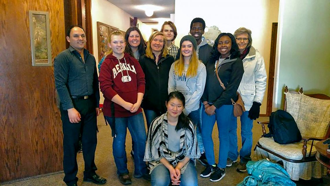 Maplewood students traveled to the mission field of their own home state where they worked to help another school, local churches and community centers.