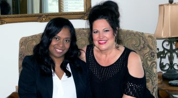Ivona Bernard (left) is Central States Conference Ministers' Spouses Association director. Terrel Bishop (right) is the Magdalene KC program coordinator. See how you can become involved at www.heartheirvoices.org.